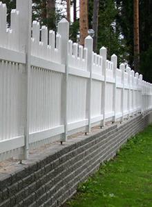 10 muuri-aita sa